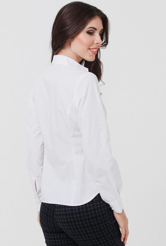 Белые Классические Блузки